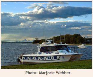 Bribie, Volunteer Marine Rescue Boat